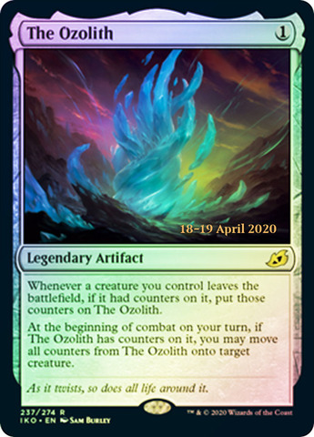 The Ozolith - Foil - Prerelease Promo