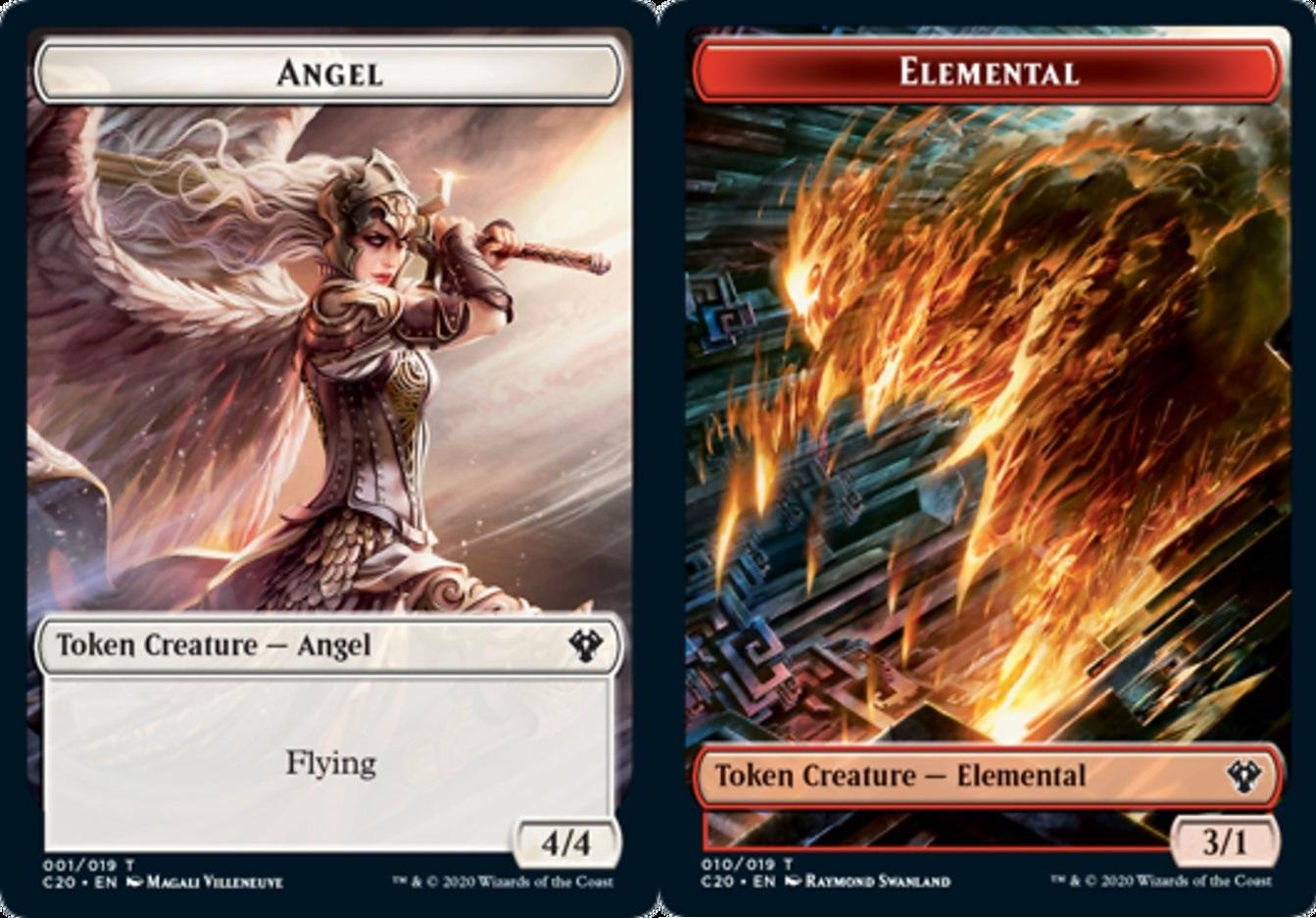 Angel Token // Elemental Token
