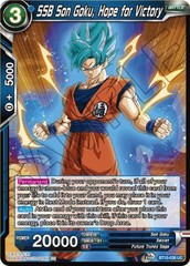 SSB Son Goku, Hope for Victory - BT10-036 - UC - Foil