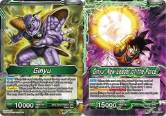 Ginyu // Ginyu, New Leader of the Force - BT10-061 - C - Foil