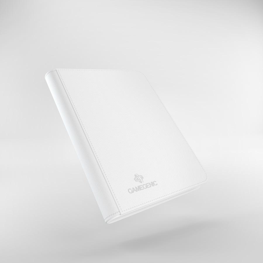 Gamegenic: Zip-Up Album (8-Pocket) - White