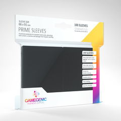 Gamegenic Prime Sleeves - Black (100)