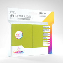Gamegenic - Matte Prime Sleeves - Lime