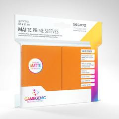 Gamegenic - Sleeves: Gamegenic Matte Prime Sleeves - Orange (100)