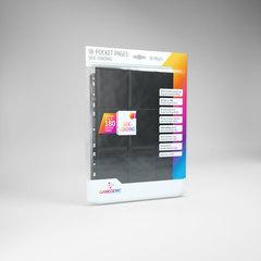 Gamegenic - 18 - Pocket Pages Side Loading - Black - (10 pages bag)