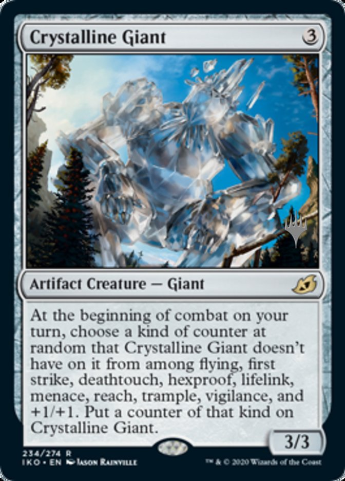 Crystalline Giant - Foil - Promo Pack