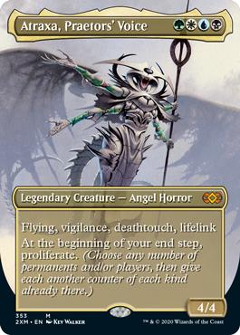 Atraxa, Praetors Voice - Borderless
