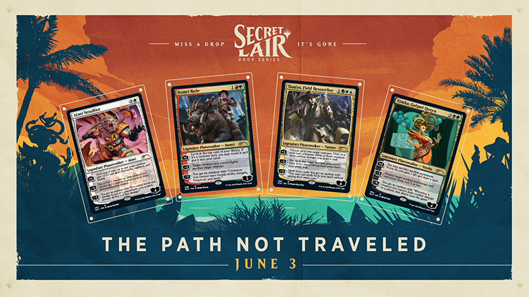 Secret Lair - Summer Super Drop - The Path Not Traveled