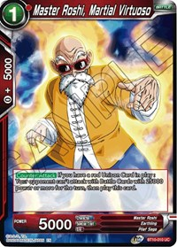 Master Roshi, Martial Virtuoso - BT10-010 - UC