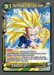 Technique Chain Son Goku - BT10-098 - C
