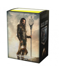 Dragon Shield Matte Art Sleeves: Justice League - Aquaman - Limited Edition (100ct)
