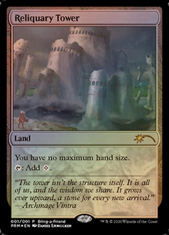 Reliquary Tower - Foil - Bring-a-Friend Promo