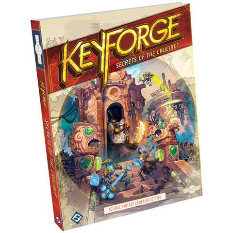 Genesys RPG: Keyforge - Secrets of the Crucible (Hardcover)