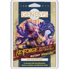 Genesys RPG: Keyforge - Secrets of the Crucible Supplement Pack - Mutant Invasion!