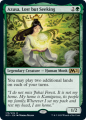 Azusa, Lost but Seeking - Foil on Channel Fireball