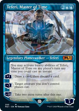 Teferi, Master of Time (290) - Foil - Showcase