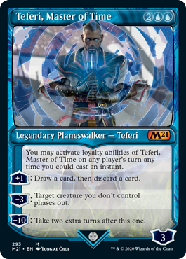 Teferi, Master of Time (293) - Foil - Showcase