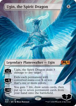Ugin, the Spirit Dragon - Foil - Borderless