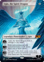 Ugin, the Spirit Dragon (Borderless) - Foil