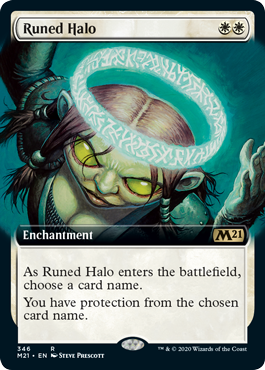 Runed Halo - Extended Art