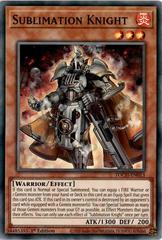 Sublimation Knight - TOCH-EN013 - Super Rare - 1st Edition