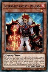 Infernoble Knight - Roland - TOCH-EN014 - Ultra Rare - 1st Edition