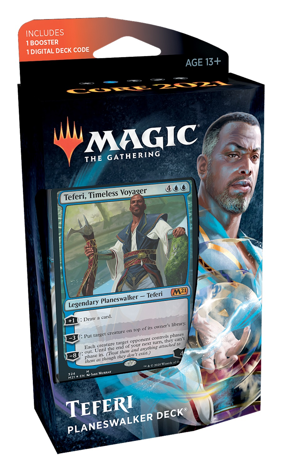 Teferi Planeswalker Deck Core Set 2021