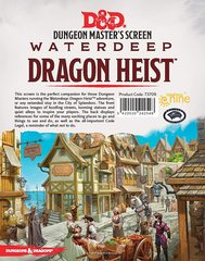 Waterdeep: Dragon Heist DM Screen