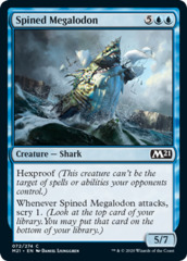 Spined Megalodon - Foil