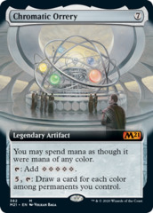 Chromatic Orrery - Foil - Extended Art