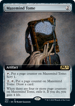 Mazemind Tome - Foil - Extended Art