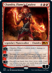 Chandra, Flame's Catalyst - Foil - Planeswalker Exclusive