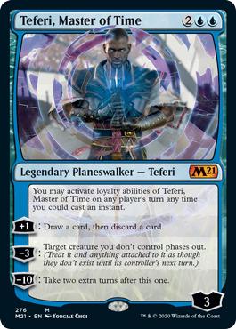 Teferi, Master of Time (276) - Alternate Art