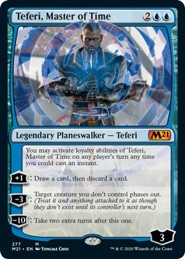 Teferi, Master of Time (277) - Foil - Alternate Art