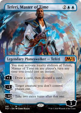 Teferi, Master of Time - Borderless