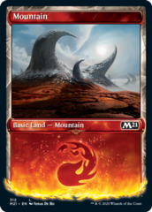 Mountain (312) - Foil - Showcase