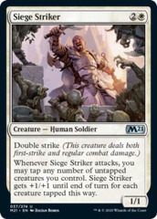 Siege Striker - Foil
