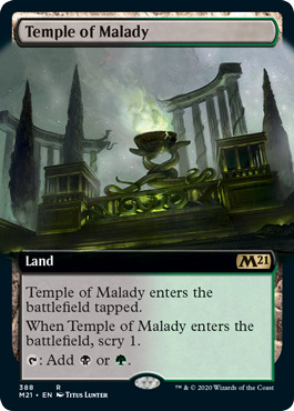 Temple of Malady - Extended Art