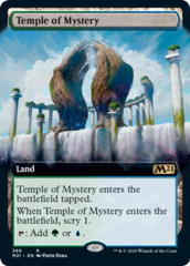 Temple of Mystery - Extended Art