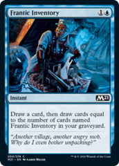 Frantic Inventory - Foil