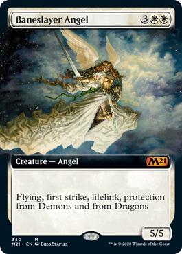 Baneslayer Angel - Foil - Extended Art