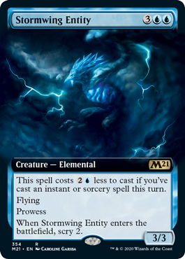 Stormwing Entity - Foil - Extended Art