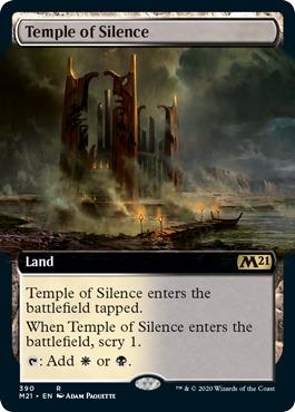 Temple of Silence - Foil - Extended Art