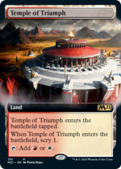 Temple of Triumph - Foil - Extended Art