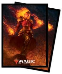 Ultra Pro - MTG Core Set 2021 Standard Deck Protector Sleeves - Chandra, Heart of Fire (100)