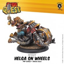 Riot Quest - Helga on Wheels Pin Combo - PIP 63023 and 9058
