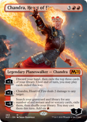 Chandra, Heart of Fire - Borderless