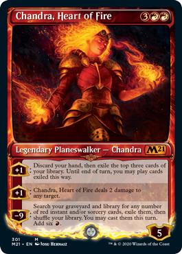 Chandra, Heart of Fire - Showcase
