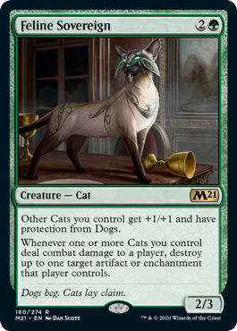 Feline Sovereign - Foil