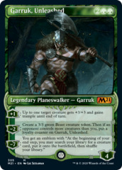 Garruk, Unleashed - Foil - Showcase